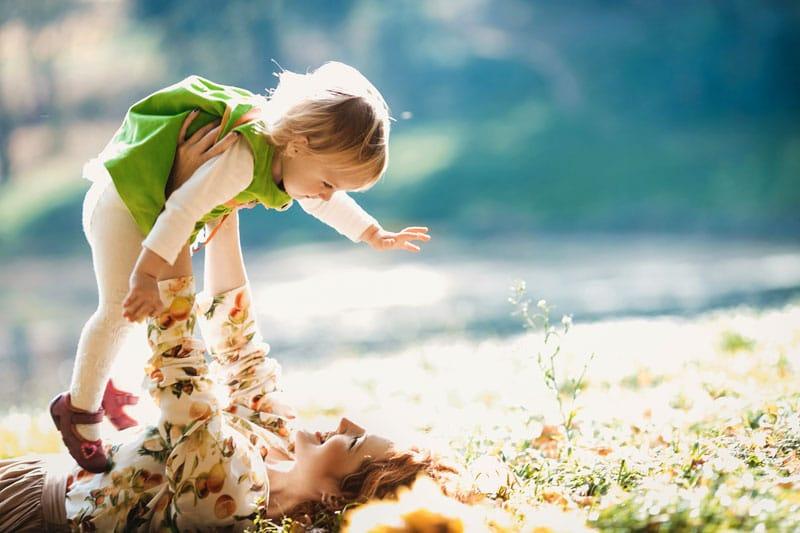 Fyzický kontakt s dieťaťom