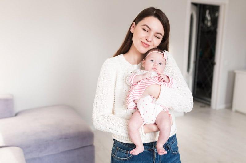 Šťastná matka vychová šťastné dieťa