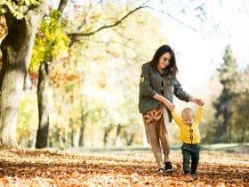 ako naučiť dieťa chodiť
