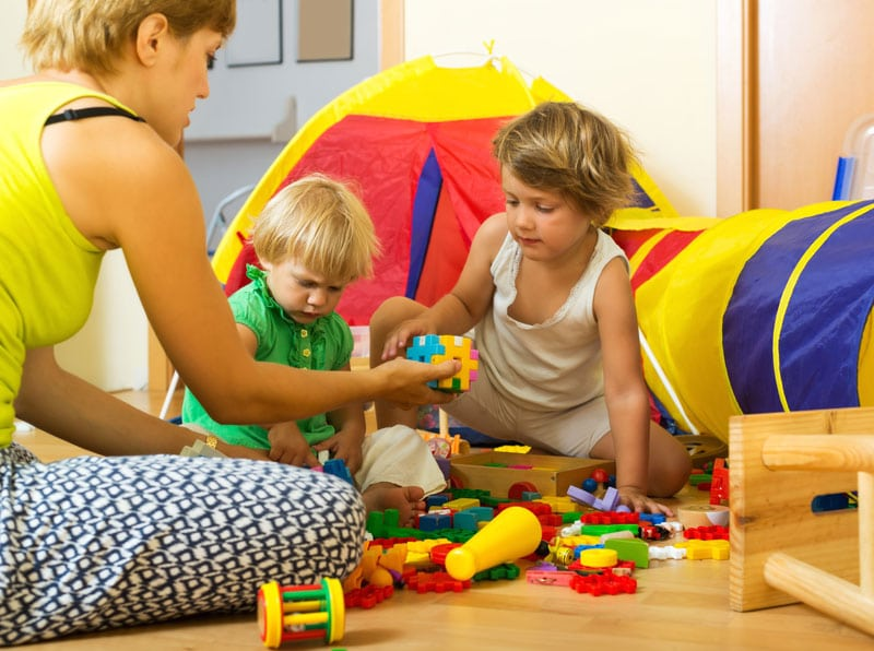 Filiálna terapia hra s deťmi
