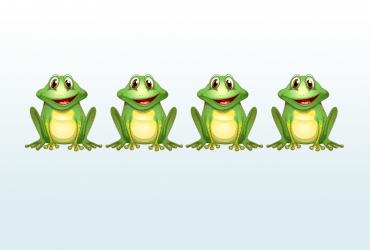 4 žaby príbeh