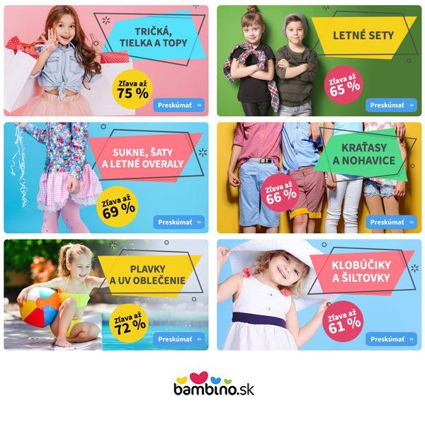 Letný výpredaj oblečenia -75%  9b4db86e6eb