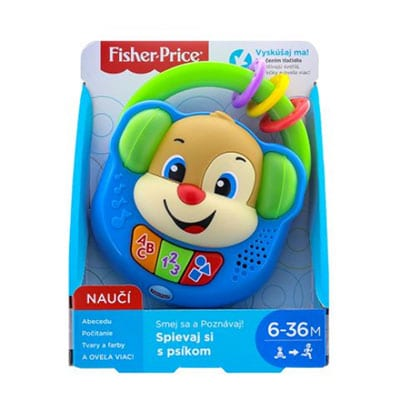 Fisher price Spievaj si so psíkom