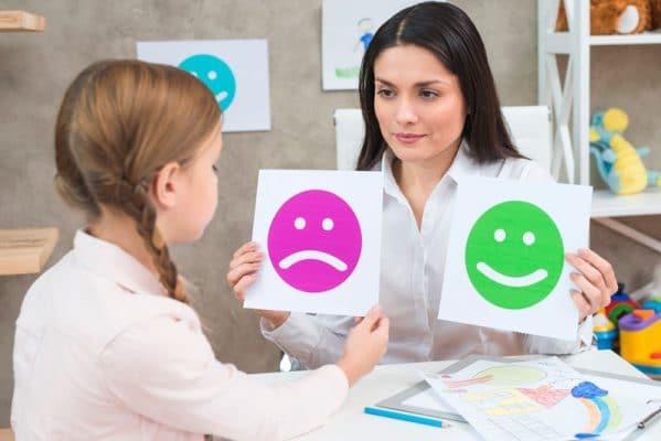 Dieťa u psychológa
