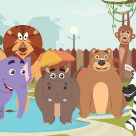 video pre deti o zvieratkách