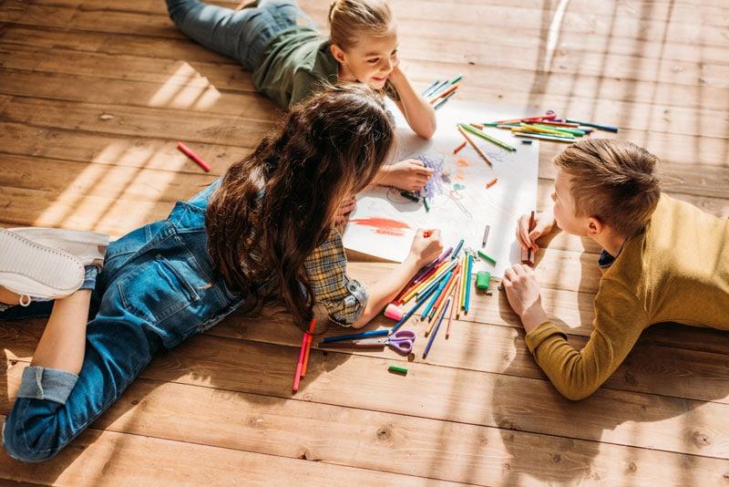 Deti si kreslia