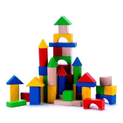 Drevené kocky pre deti