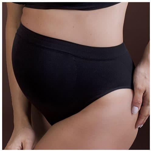 Tehotenské nohavičky čierne
