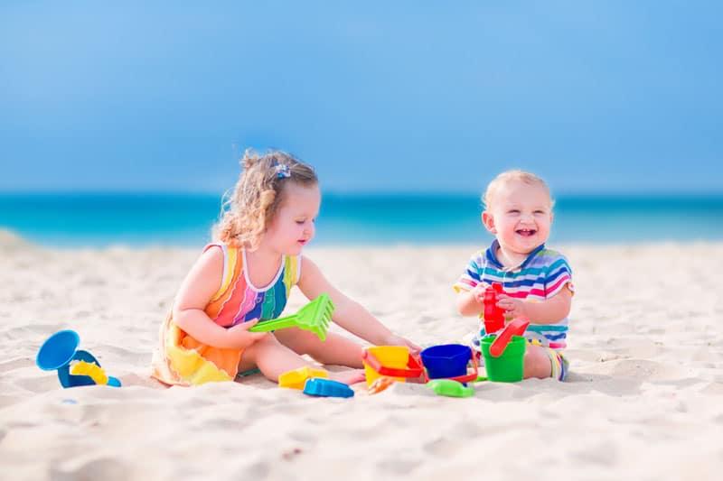 Pobyt detí na slnku