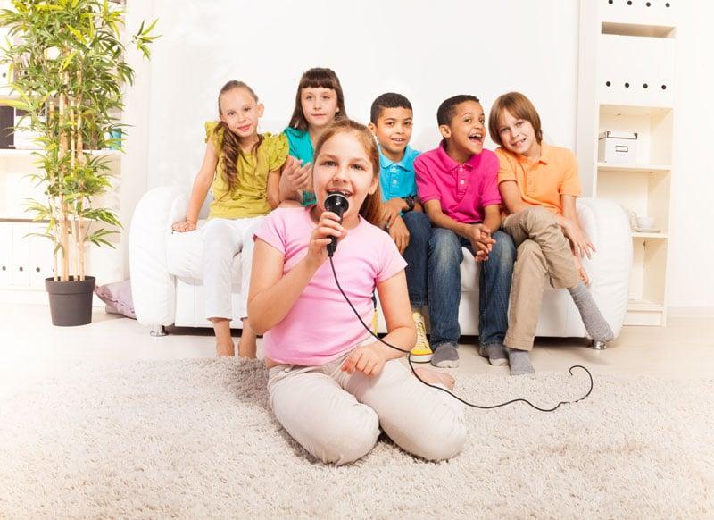 Karaoke detí