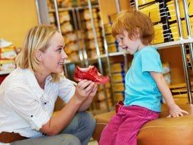 Ako vybrať detské topánky