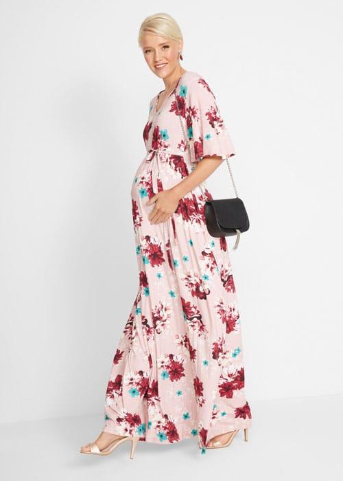 dlhé šaty pre tehotné
