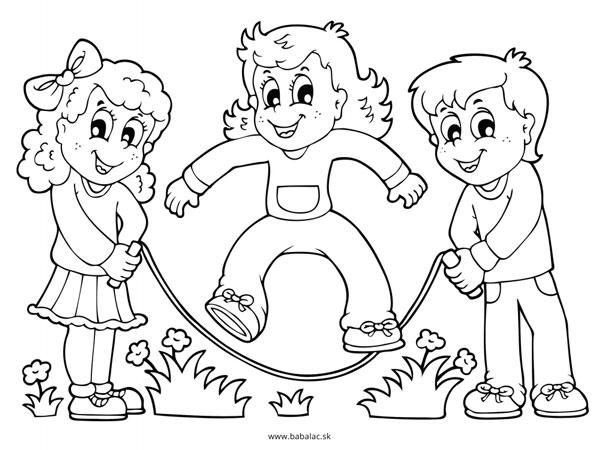 Omaľovánky pre deti