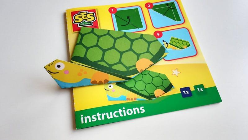 Origami pre deti zložené