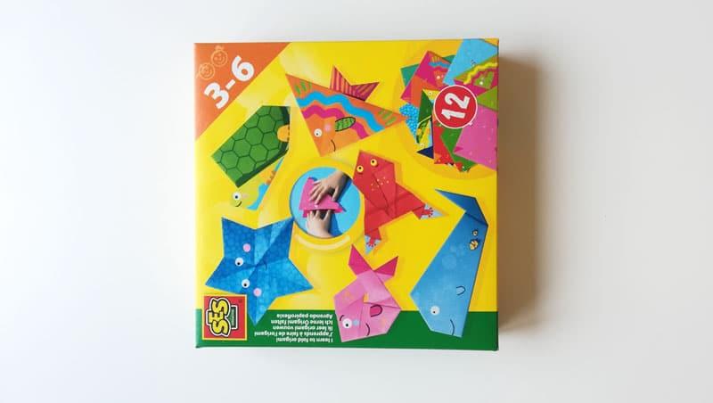 Origami rôzne motívy v krabici