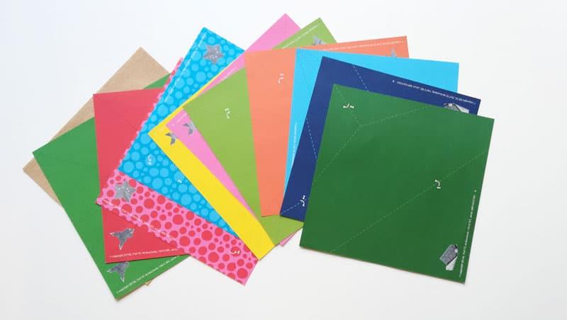 Origami rôzne motívy
