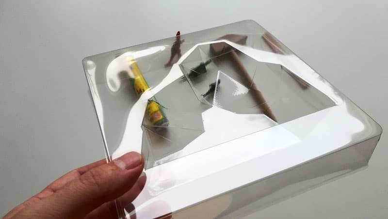 Vykopávky z ľadovca forma