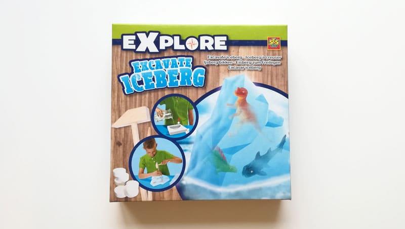 Vykopávky z ľadovca pre deti
