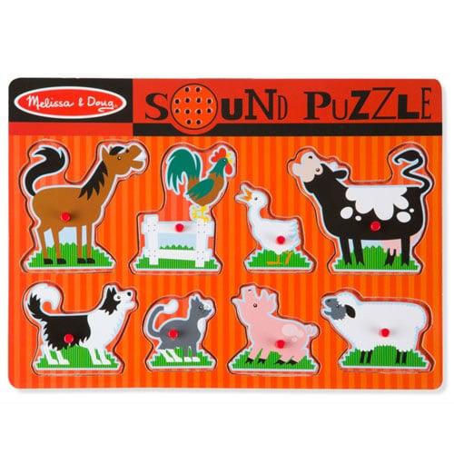 Zvukové klasické puzzle