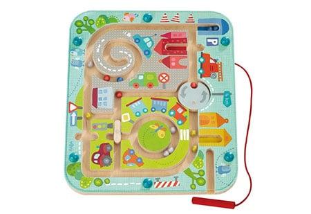 Guľočkový labyrint pre deti