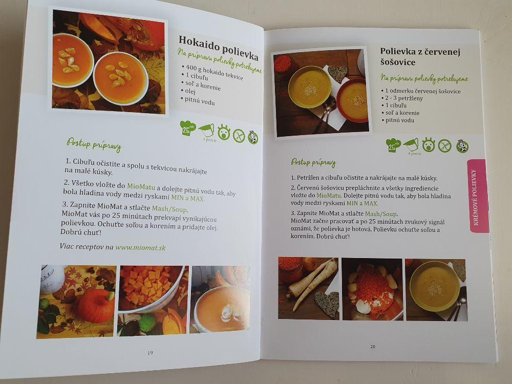 Recepty na polievky MioMat