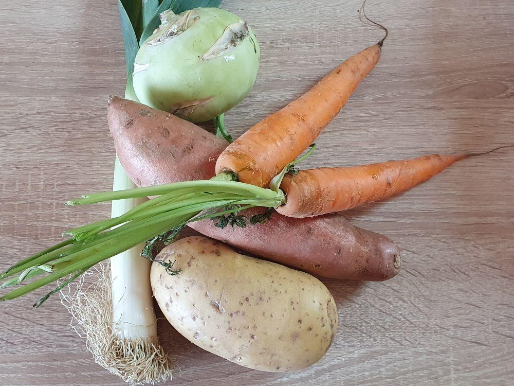 Zelenina na polievku
