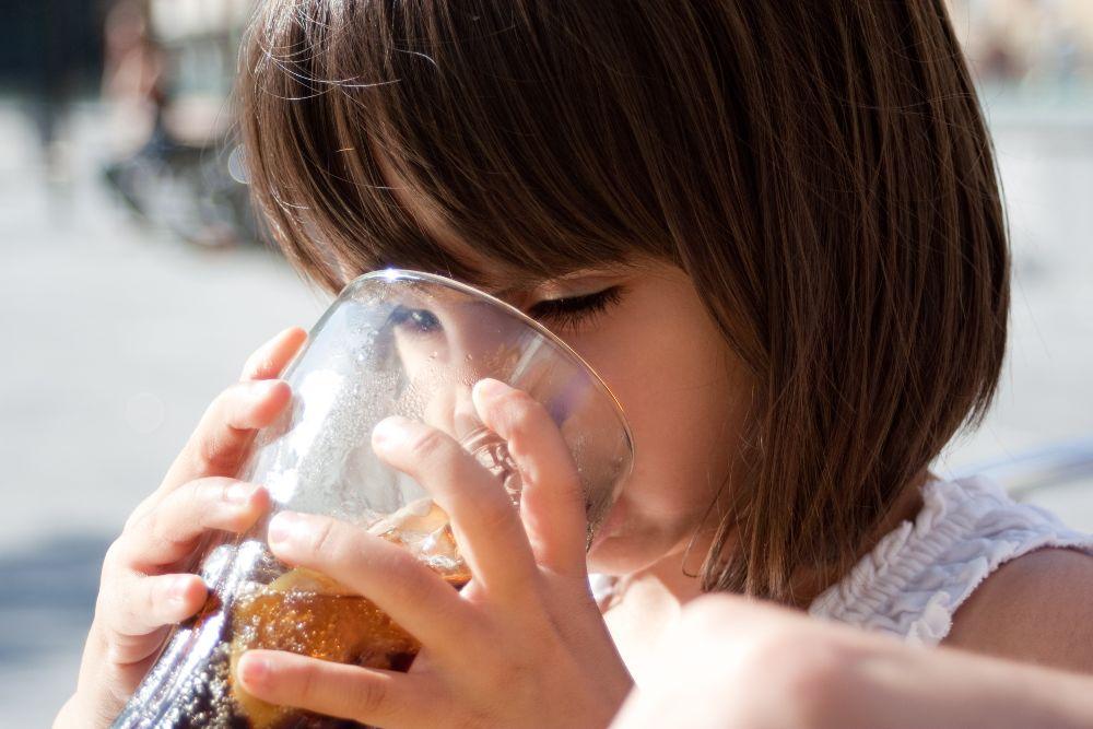 Sladené nápoje a deti