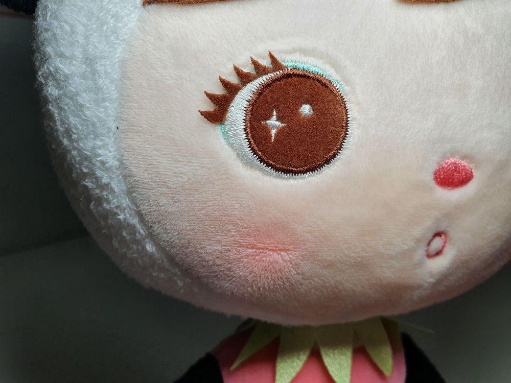 Detail oko bábika Metoo