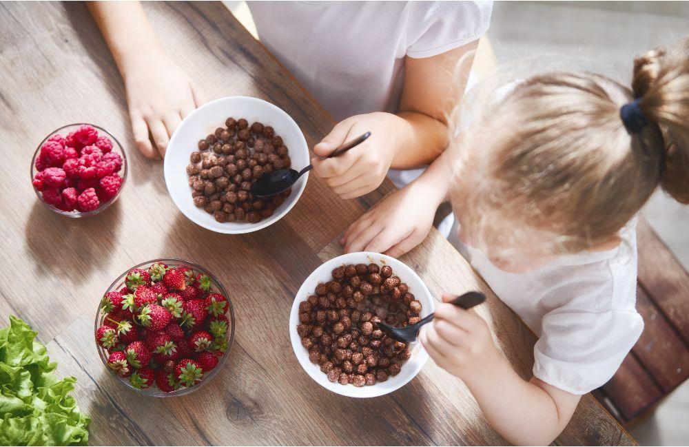 Raňajky detí