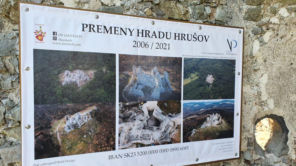 Premeny hradu Hrušov