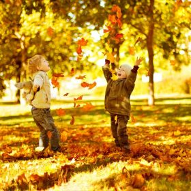 Jeseň s deťmi